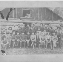 Image of 4032 - Huntsville Lumber Company, Lumber Camp