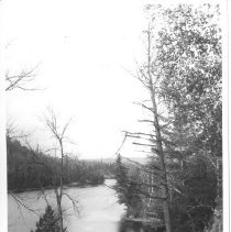 Image of 1933 - Old Timber Chute