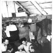 Image of 1933 - Bridge Game in the Cabin at Lake Traverse