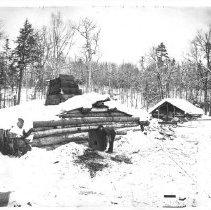 Image of 1873 - Lumberman's Shanty