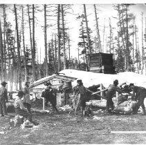Image of 1871 - Lumberman's Shanty