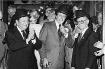 Image of Ribbon cutting ceremony at the Mizpah Hotel and Casino Grand Opening - ca. January, 1980