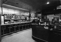 Image of Coffee shop inside of the Mizpah Hotel and Casino - ca. 1976