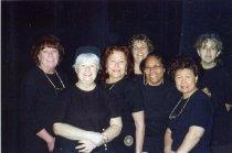 Image of Members of the Folies Bergere wardrobe staff - ca. 1990s