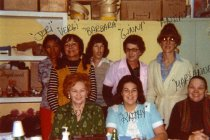 Image of Members of the Folies Bergere wardrobe staff - ca. late 1970s