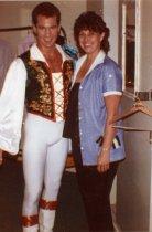 Image of Performer Randy with Kathy Kieffner - ca. 1980s