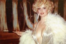 Image of Moire K Lynch for the Folies Bergere stage show - ca. 1980s