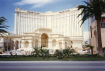 Image of Monte Carlo Hotel and Casino under construction