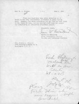 Image of Letter, McFarland to Wiseman, page 2