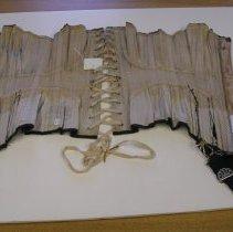 Image of Black corset interior