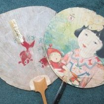 Image of Chinese paper fans