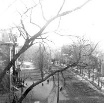 Image of Photograph View to Southeast on Massachusetts Avenue from the Top of the Hunt Building - 5369