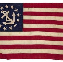 Image of United States Yacht Ensign c. 1900-1920 - 12272