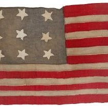 Image of American Flag c. 1890 - Y908