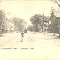 Image of Postcard of Massachusetts Avenue in 1888 - 10561-2