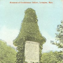 Image of Postcard of Monument of Revolutionary Soldiers - 2016.044-3