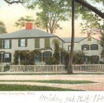 Image of Postcard of the Harrington House (1 Harrington Road) - 2016.048-4