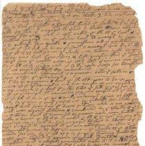Image of Jonas Clarke Sermon Fragment from January 29, 1775 - 245-3