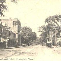 Image of Postcard of Massachusetts Avenue in 1892 - 8646