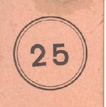 Image of Baseball Ticket from July 10, 1915 - 13116-19