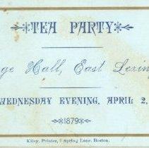 Lexington Event Ephemera Collection