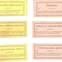 Image of Assorted Dance Cards - 13116-8