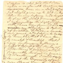 Image of Betty Underwood's Confession of Faith - 1292-36