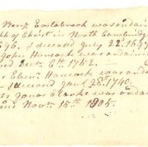 Image of History of the Ministers of Lexington - 3640-3