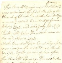 Image of History of the Ministers of Lexington - 3640-4