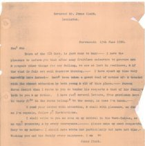 Image of Correspondence Relating to Jonas Clarke - 5651-1