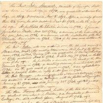 Image of Biography of Reverend Jonas Clarke and Reverend John Hancock - 8347-3