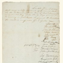 Image of Receipt for Lexington Militia Payroll  - 3866