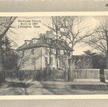 Image of Postcard of Buckman Tavern - 6821-5