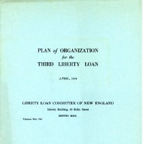 Image of Booklet on Plan of Organization for the Third Liberty Loan - 13670