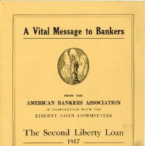 Image of A Vital Message to Bankers Concerning the Second Liberty Loan - 13660-3