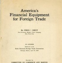 Image of America's Financial Equipment of Foreign Trade - 13660-5