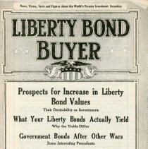 Image of Liberty Bond Buyer Booklet - 13660-9