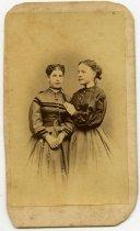 Image of Photo/CDV2483 - Rebecca Mulford and Maria Abbott