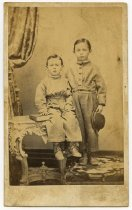 Image of Photo/CDV2555 - Children's Clothing and Dress