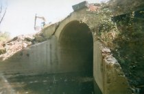 Image of Erosion at Spring St. Hill Tunnel