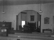 Image of Interior of Jacobs Chapel Church 1960