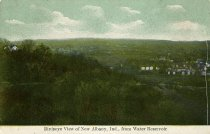 Image of Birdseye view of New Albany, Ind., from water reservoir