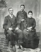 Image of Burkhart family portrait