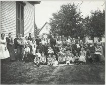 Image of Keller family reunion