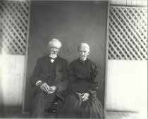 Image of Unidentified elderly man and woman