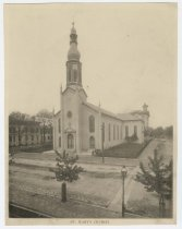Image of St. Mary's Church, New Albany, Ind., ca. 1892 - Churches