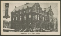 Image of Postcard of the New Albany Post Office, New Albany, Ind., ca. 1946 - Post offices