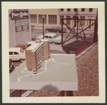 Image of Model for the Parkview Towers in New Albany, Ind.