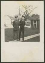 Image of Charles and Earl Umbach of New Albany, Ind. - Military uniforms