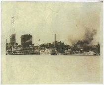 Image of Photocopy of Cincinnati and American steamboats - Steamboats